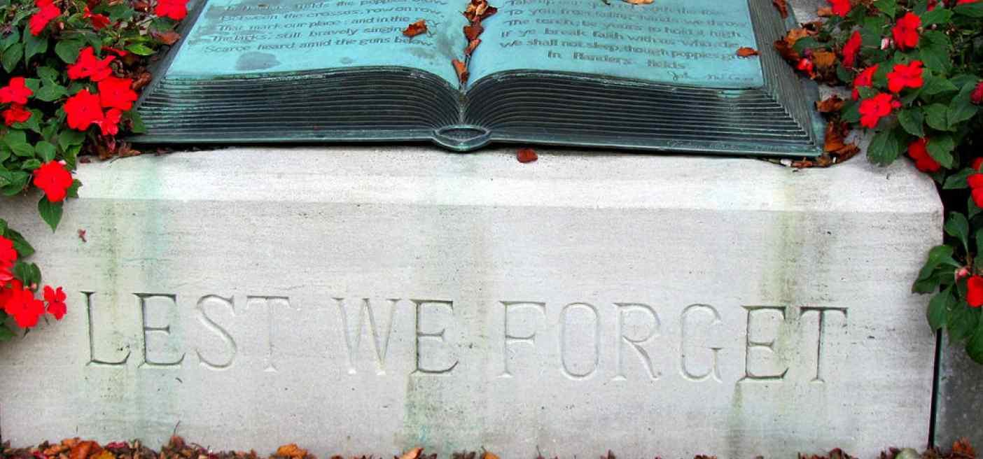 In Flanders Fields memorial